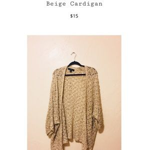 Beside cardigan!!